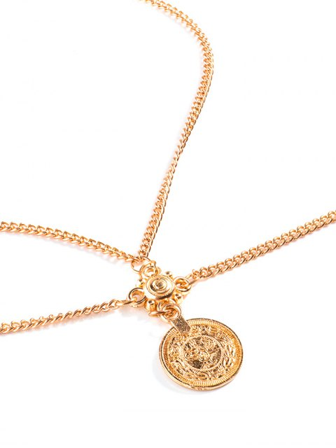 hot Coin Crossed Body Chain - GOLDEN  Mobile