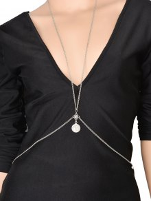 Coin Crossed Body Chain