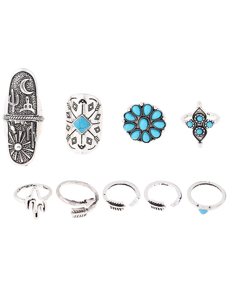 Tribe Style Embossed Rings