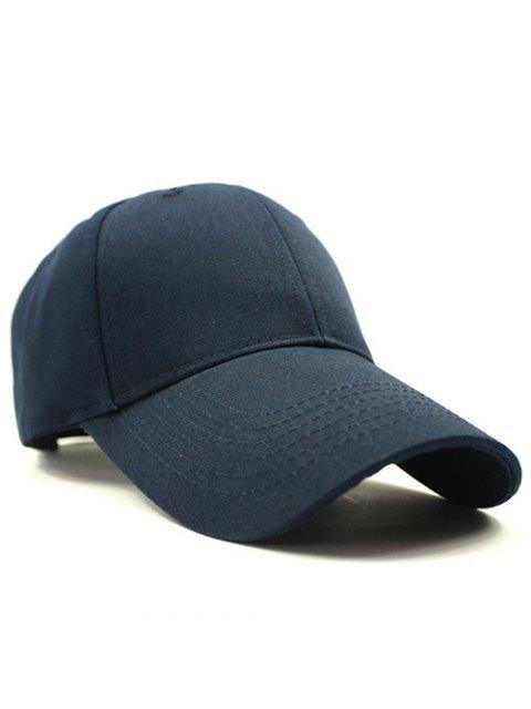 unique Solid Color Sunscreen Baseball Hat - DEEP BLUE  Mobile