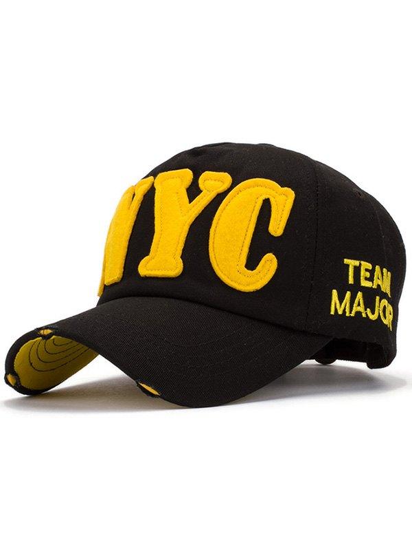 Letter Applique Baseball Hat