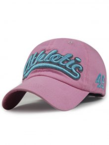 Letter Embroideried Baseball Hat