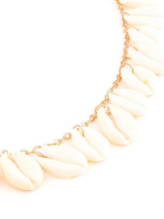 Shell Tassel Belly Chain - GOLDEN  Mobile