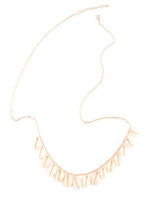Shell Tassel Belly Chain - Golden