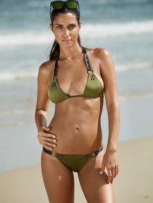 Halter Alloy Ring Design   Bikini For Women