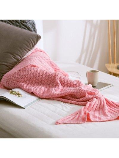 Warm Knitted Mermaid Tail Blanket от Zaful.com INT