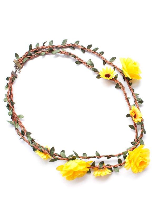 Gorgeous Floral Leaf Necklace