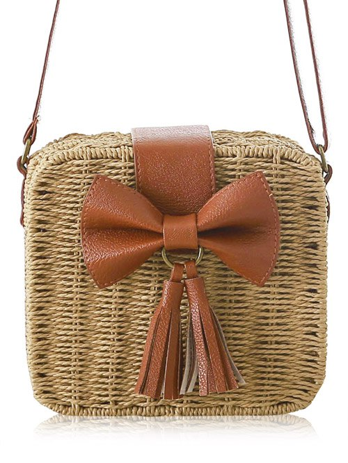 Bow Design Crossbody Bag For Women