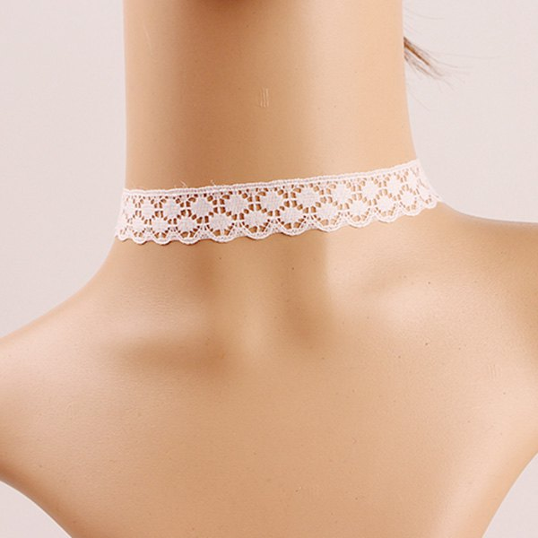 Hollow Out Lace Choker Necklace