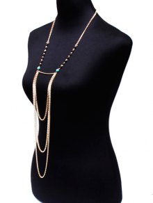 Beads Body Chain - GOLDEN