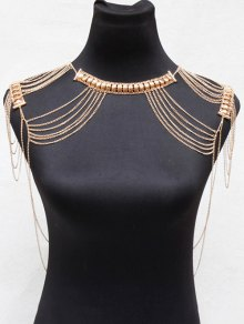Alloy Hollowed Body Chain