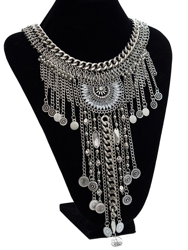 Image of Faux Crystal Necklace
