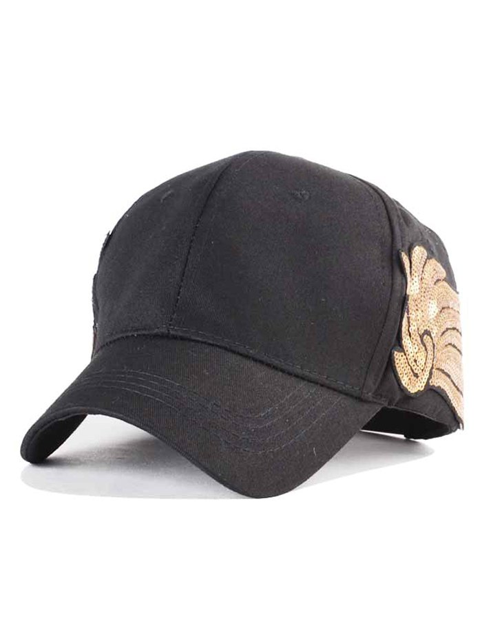 Sequins Wing Baseball Hat
