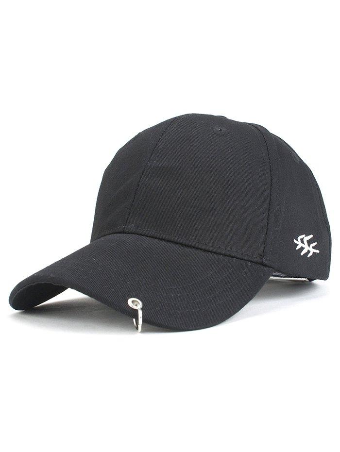 Metal Ring Baseball Hat