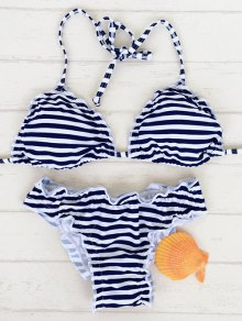 Stringy Selvedge Bikini Set
