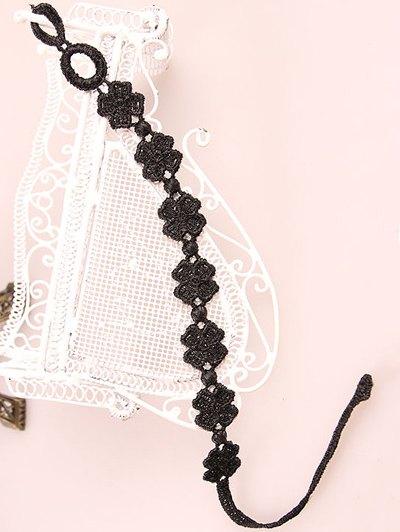 Lucky Clover Lace Bracelet