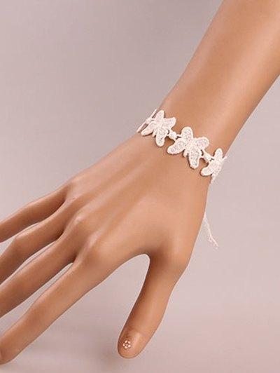 Vintage Butterfly Lace Bracelet