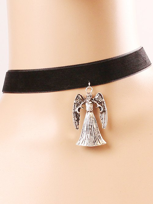 Witch Skull Choker Necklace