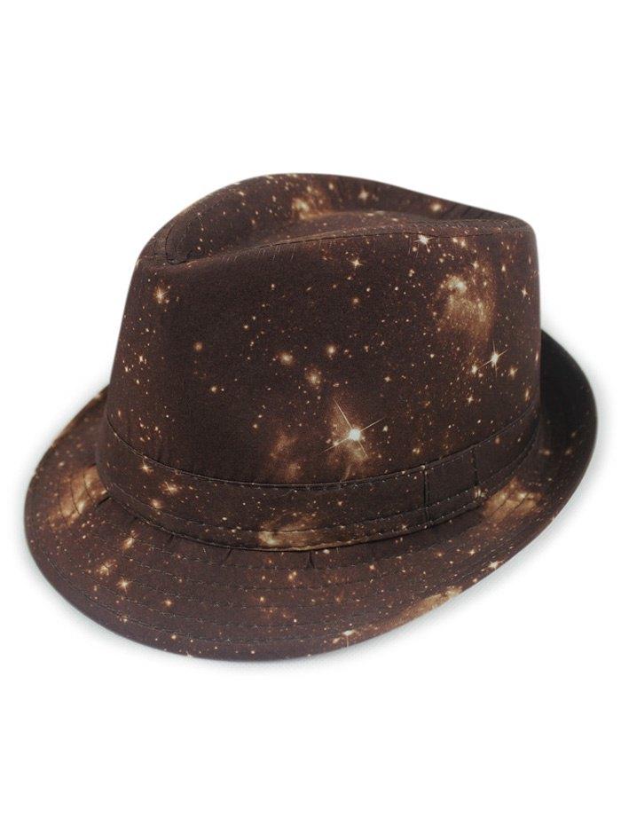 Starry Sky Fedora Hat