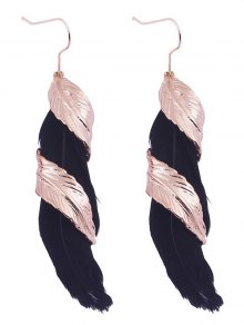 Alloy Feather Earrings