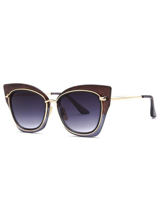 sale Vintage Cat Eye Sunglasses - BROWN