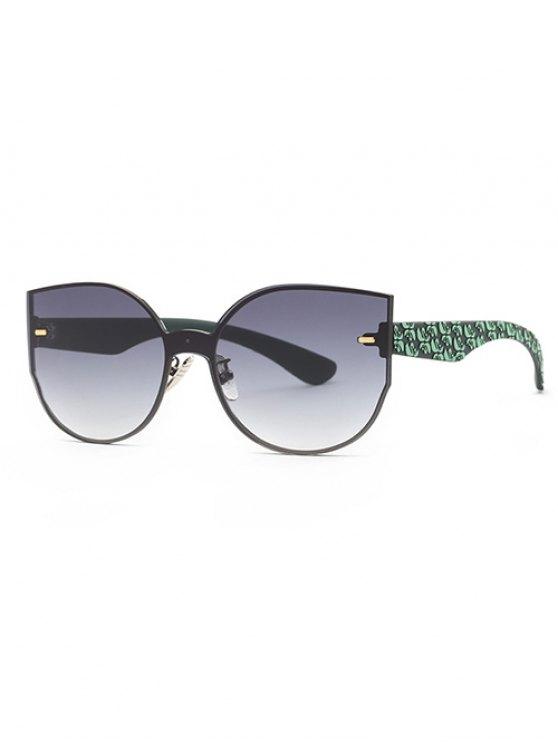 trendy Outdoor Oversized Sunglasses - GRAY