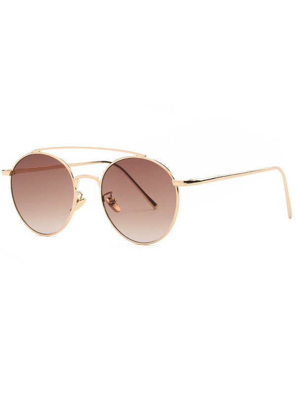 Metal Frame Pilot Sunglasses