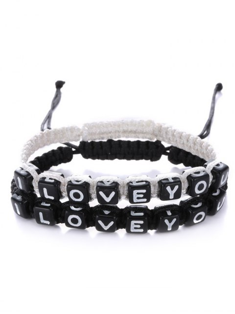 womens Letters I Love You Bracelets -   Mobile