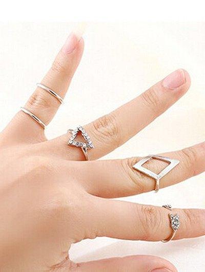 Vintage Geometric Rings