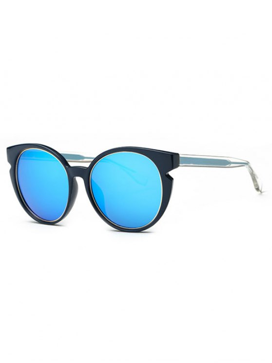 Cat Eye Mirrored Sunglasses  retro cat eye mirrored sunglasses blue sunglasses zaful
