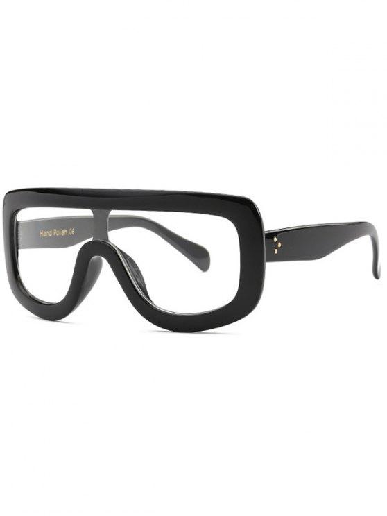 Gafas de sol de gran tamaño enfriar Integrados - Negro