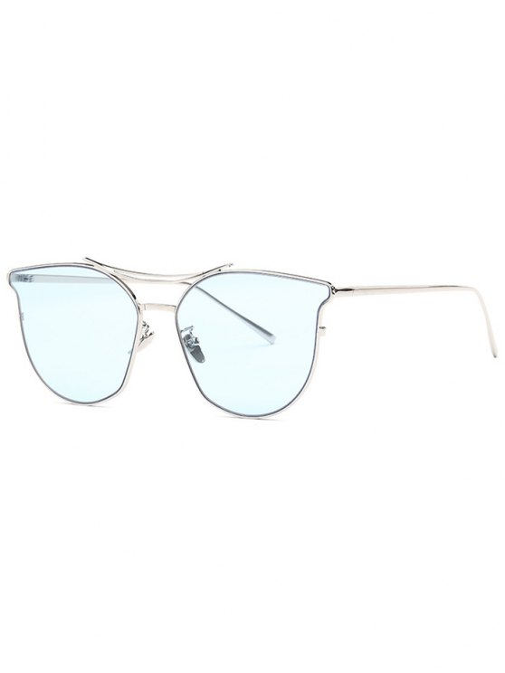 outfit Full Frame Pilot Sunglasses - BLUE