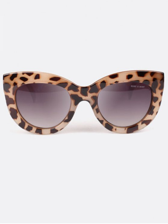 Charming Cat Eye Sunglasses - LEOPARD  Mobile