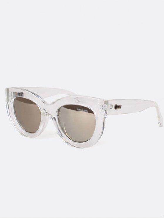 Gafas de sol del ojo de gato con encanto - Transparente