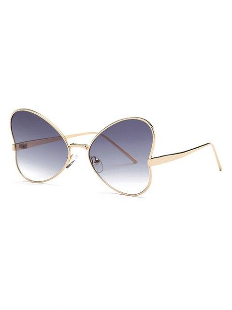 shops Heart Shape Trendsetter Sunglasses - GRAY  Mobile
