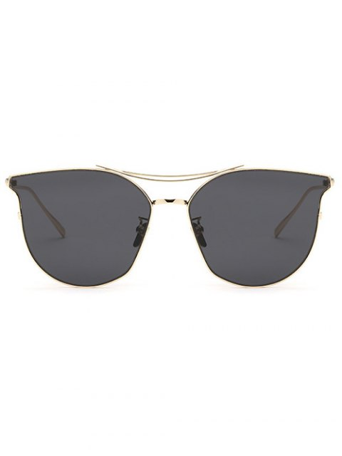 hot Full Frame Pilot Sunglasses - GRAY  Mobile