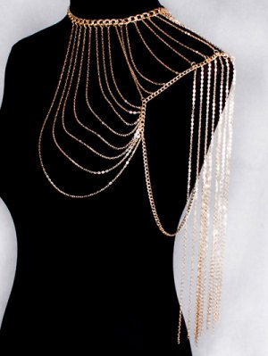 Hollow Out Body Chain - Golden