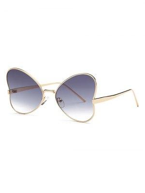 Heart Shape Trendsetter Sunglasses - Gray