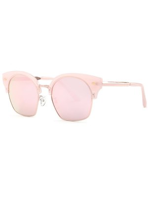 Trendsetter Pink Mirrored Sunglasses - Pink