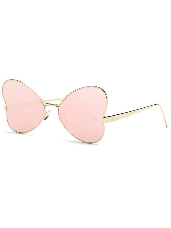 Heart Shape Mirrored Sunglasses