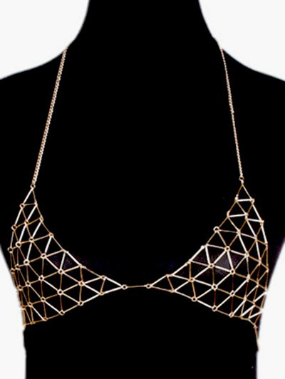 Vintage Triangle Bra Body Chain