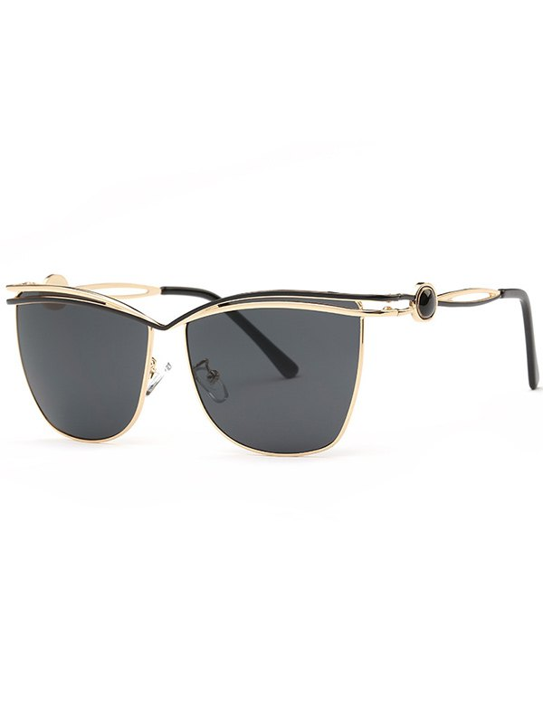 Crossbar Cut Out Sunglasses