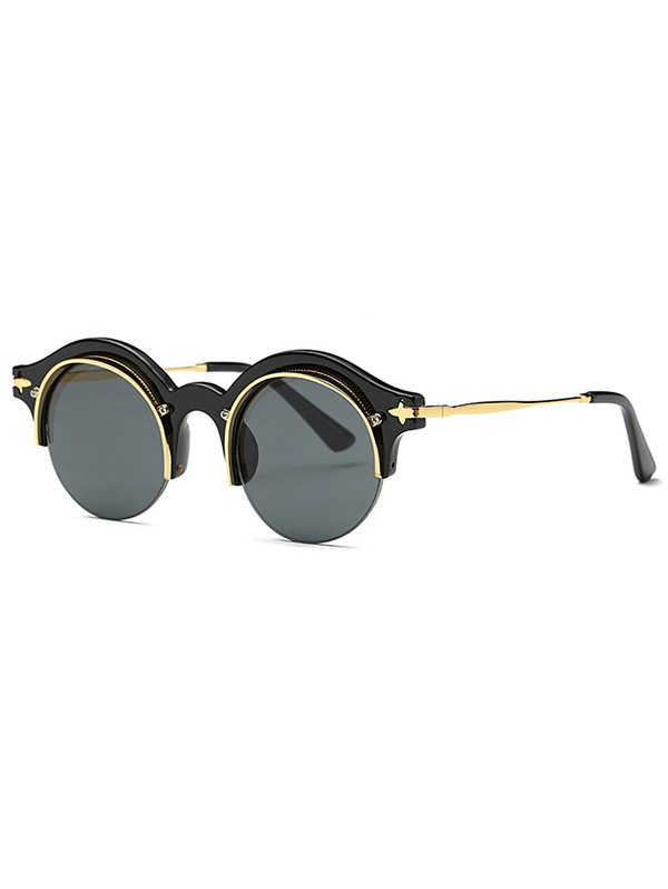 Retro Round Eyebrow Sunglasses