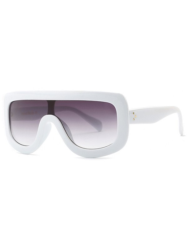 Cool Integrated Oversized Sunglasses