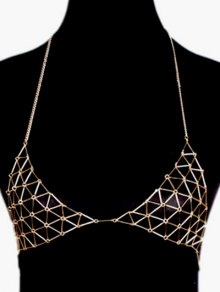 Triangle Bra Body Chain
