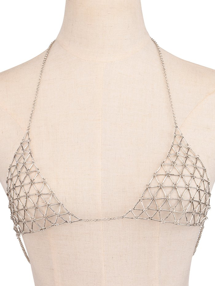 Punk Style Triangle Body Chain