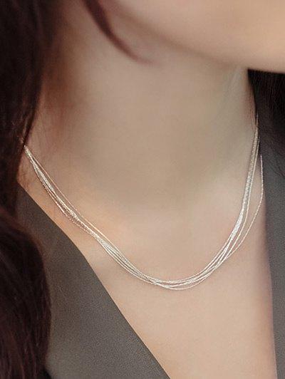Minimalist Design Layered Necklace