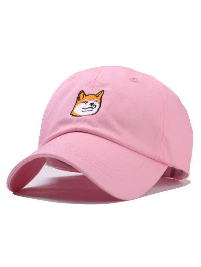Cartoon Dog Embroidery Baseball Cap