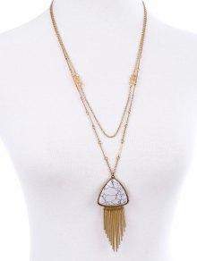 Fringle Layered Necklace