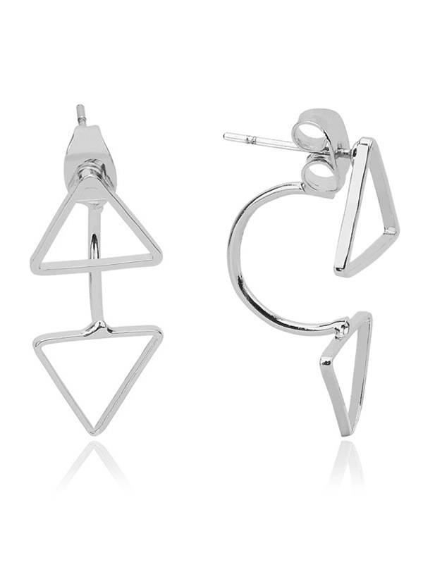 Simple Triangle Ear Jackets
